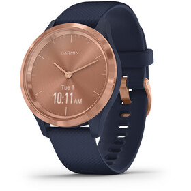 Garmin Vivomove 3S SmartWatch, blue/rose gold